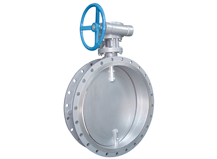 The ventilation butterfly valve with flange