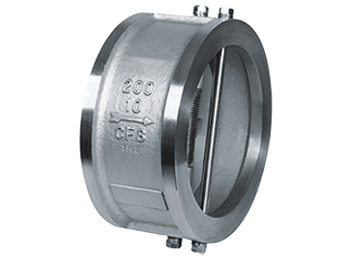 The wafer twin disc check valves